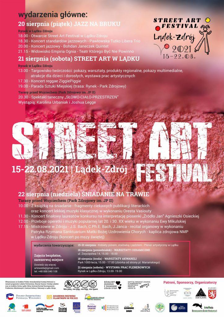 Street Art Festival - plakat imprezy
